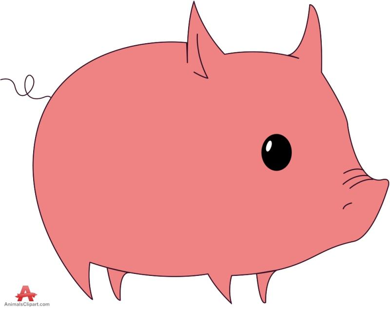Pngline pin . Animals clipart pig