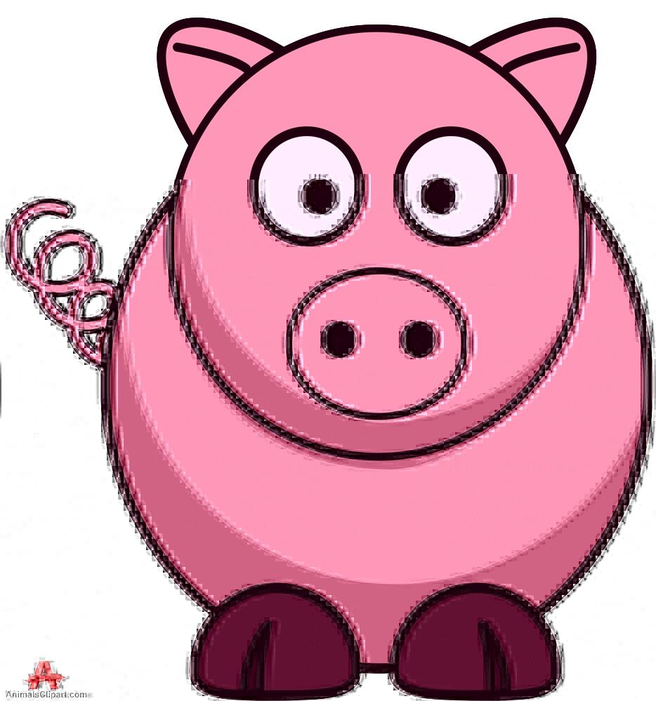 Animals clipart pig. Pigclipart clip art animal