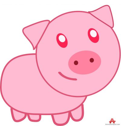 Animals clipart pig. Pigs gallery free downloads
