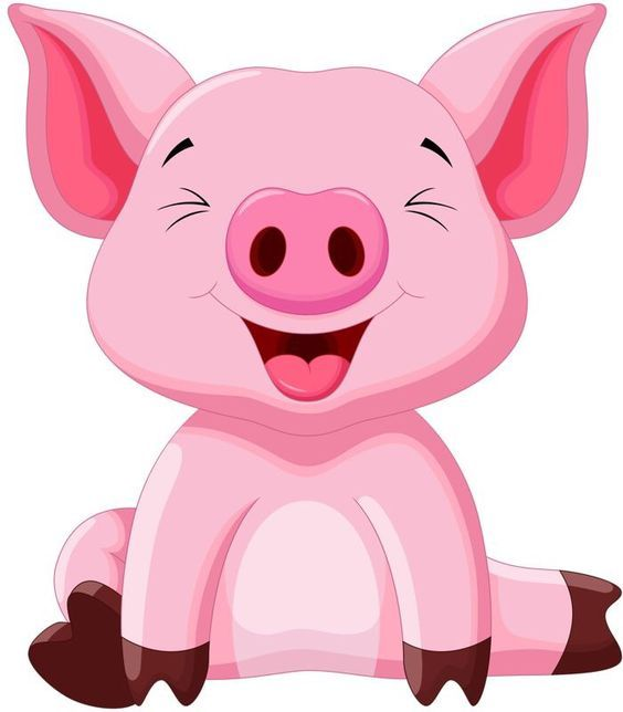 Pin by xiangrui li. Animals clipart pig