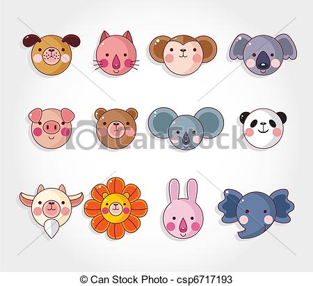 Animals clipart simple. Faces drawing at getdrawings