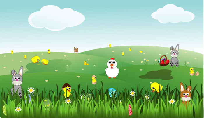 Free easter this image. Animals clipart spring