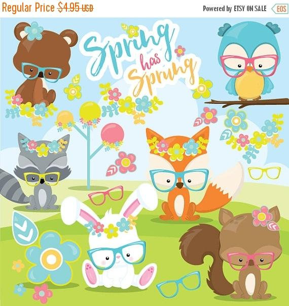 off sale commercial. Animals clipart spring
