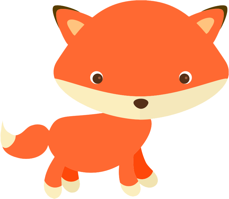 collection of transparent. Free clipart fox