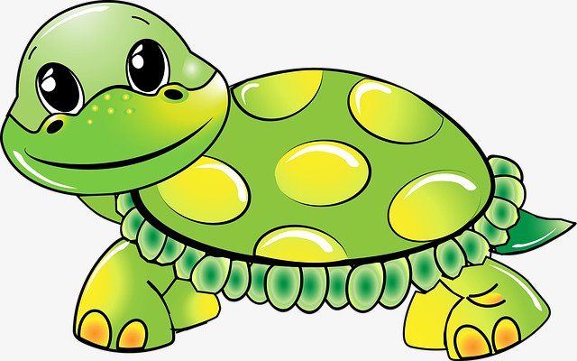 Animals clipart turtle. Cute cartoon png image