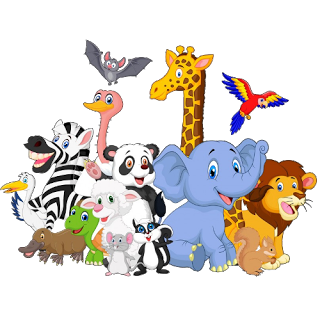 group of animals clipart 2 | Clipart Station