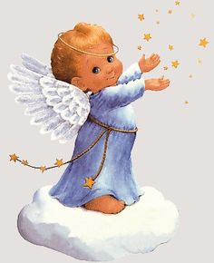Found this cool gif. Animated clipart angel