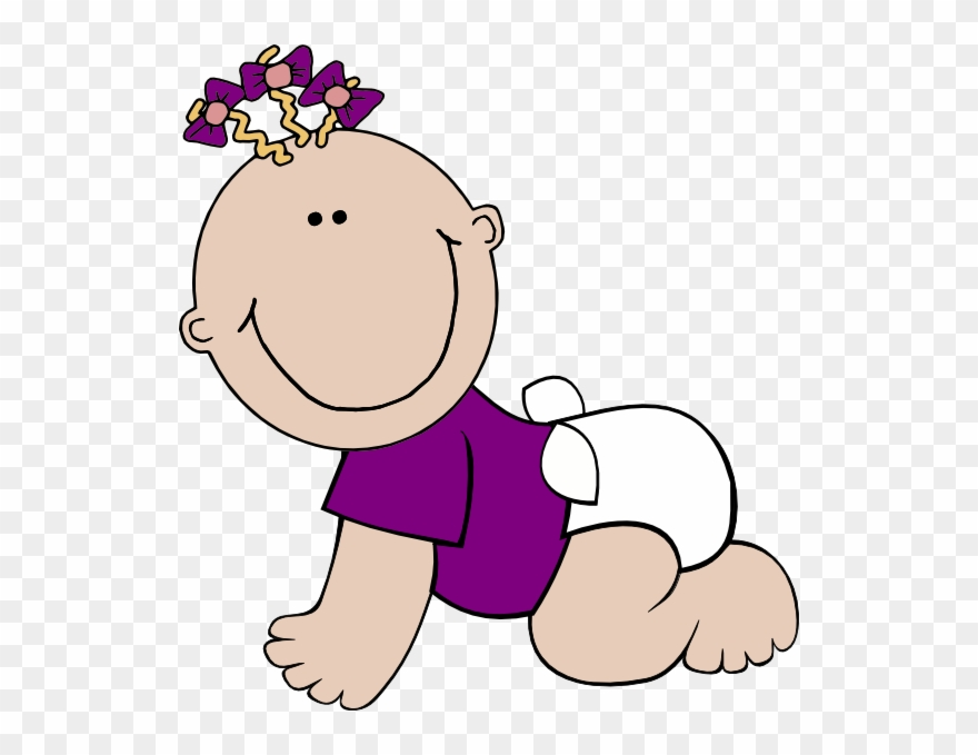 Clip art girl png. Animated clipart baby