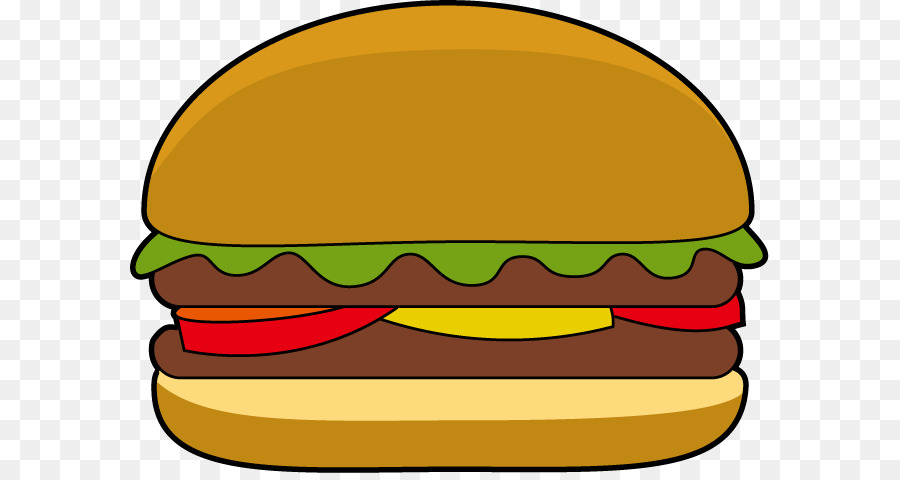 Burger clipart cartoon. Hamburger cheeseburger veggie clip