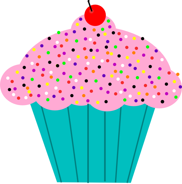 Holiday clipart cupcake. Animated