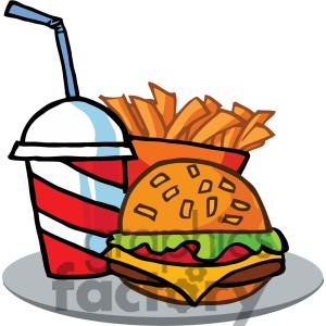 Animated clipart food.