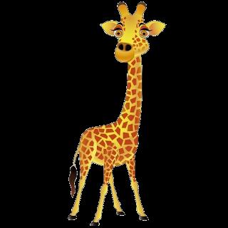 Free animated cliparts download. Giraffe clipart cartoon