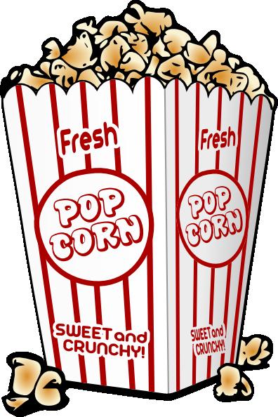 Fair clipart cartoon. Free graphics food popcorn