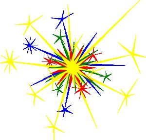 Sparkle clipart. Animated