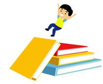 Books clipart animated. Education school gifs click