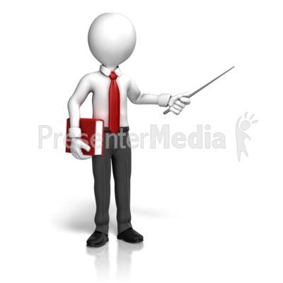 Animated clipart teacher. Man book point education