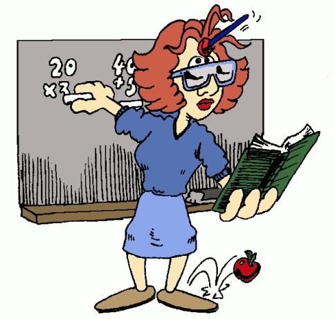 For teachers . Animated clipart teacher
