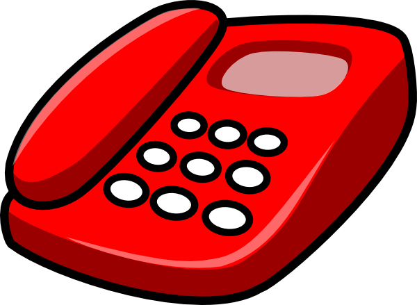 Animated . Telephone clipart