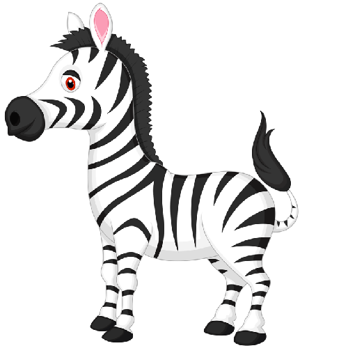 Free animated cliparts download. Clipart zebra carton
