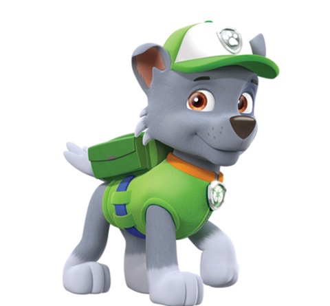 Animated png files. Image rocky paw patrol
