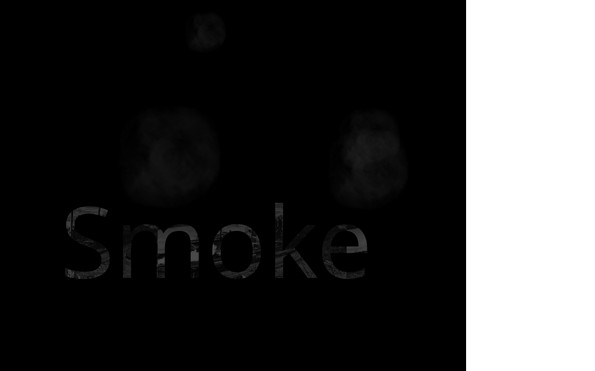 Animated smoke png. Effects in css and