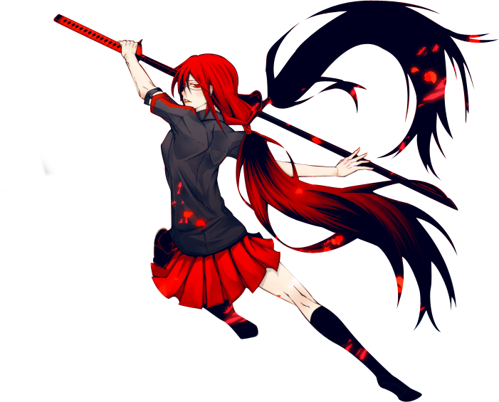 Anime blood png. C by bloomsama on