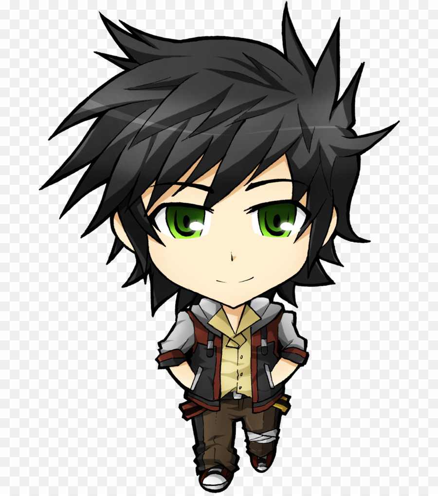 Anime clipart. Chibi boy png download