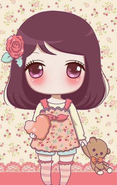 Gambar v pinterest image. Anime clipart adorable
