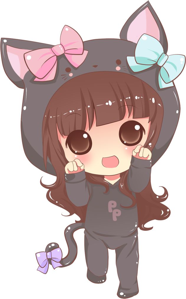 Anime clipart adorable.  best images on