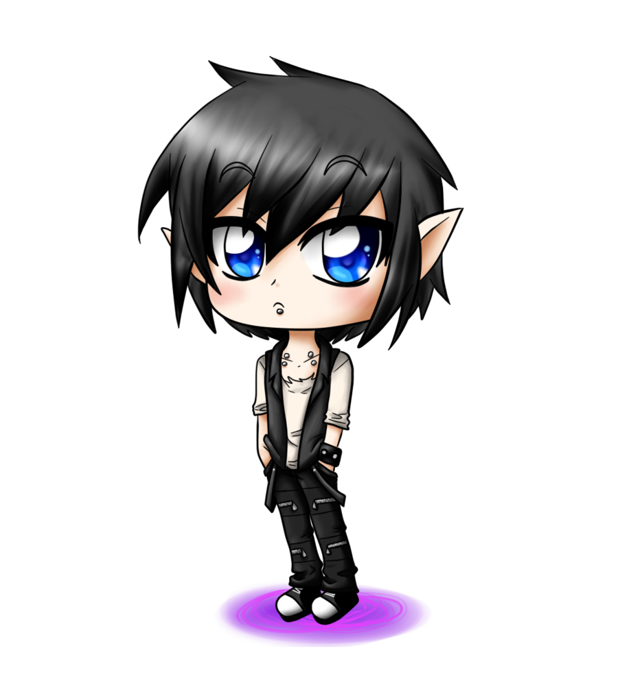 Anime clipart anime boy. Free cute png download