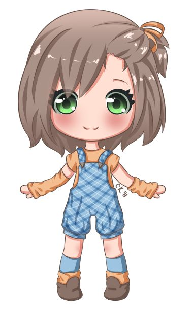 Anime clipart anime character.  best dolls fashion