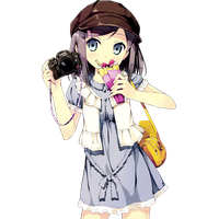 Anime clipart anime girl. Download free png photo