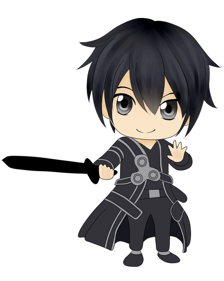best chibi boy. Anime clipart anime guy