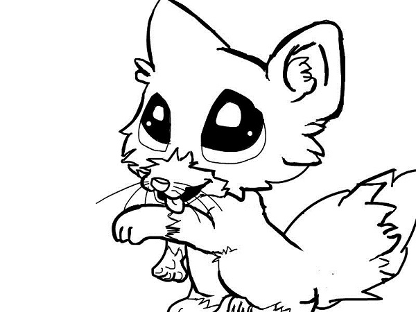 Drawing at getdrawings com. Anime clipart baby fox