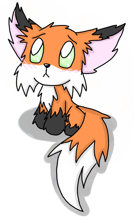 Cute panda free images. Anime clipart baby fox