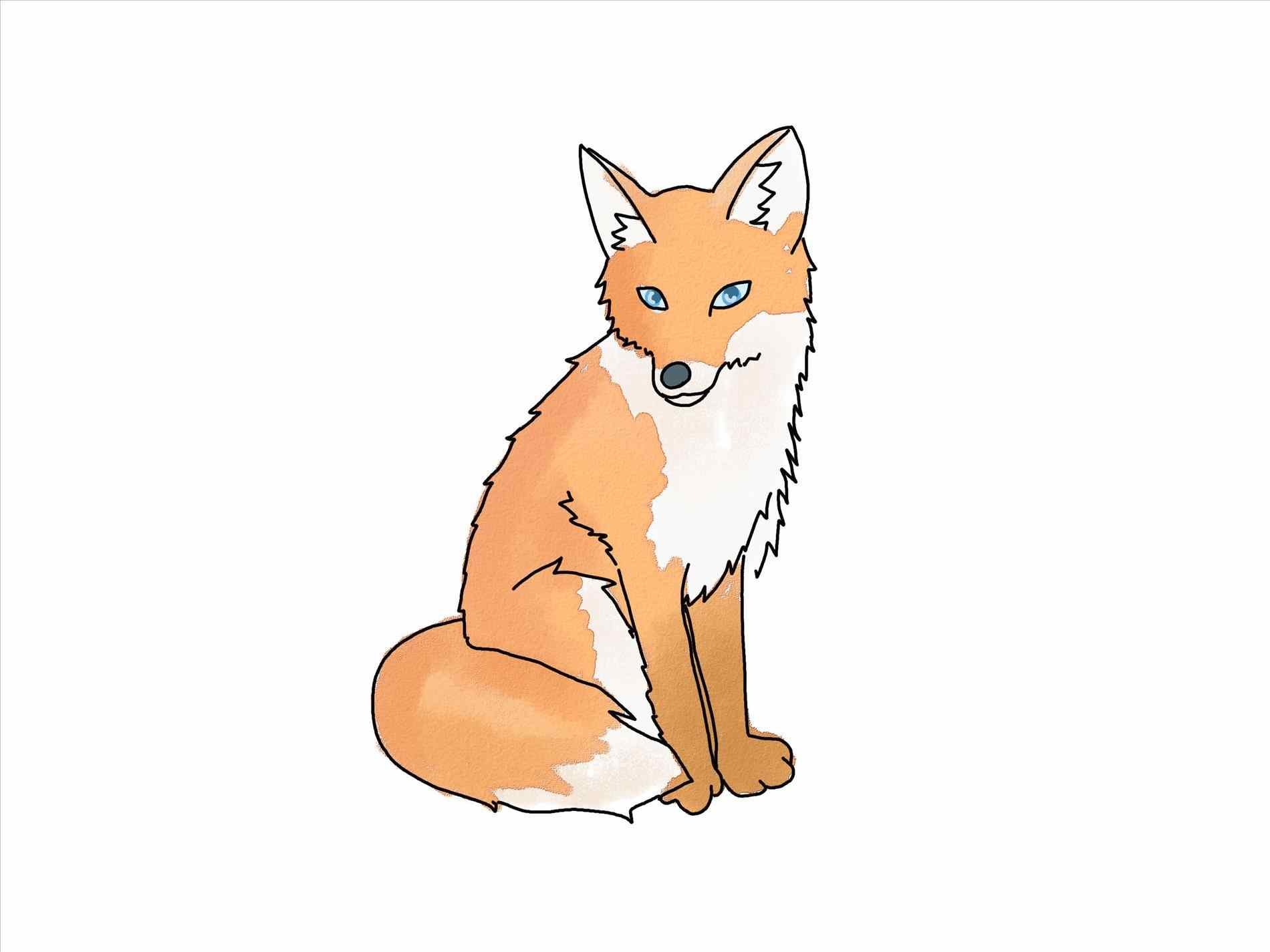 Animal pinterest es and. Anime clipart baby fox