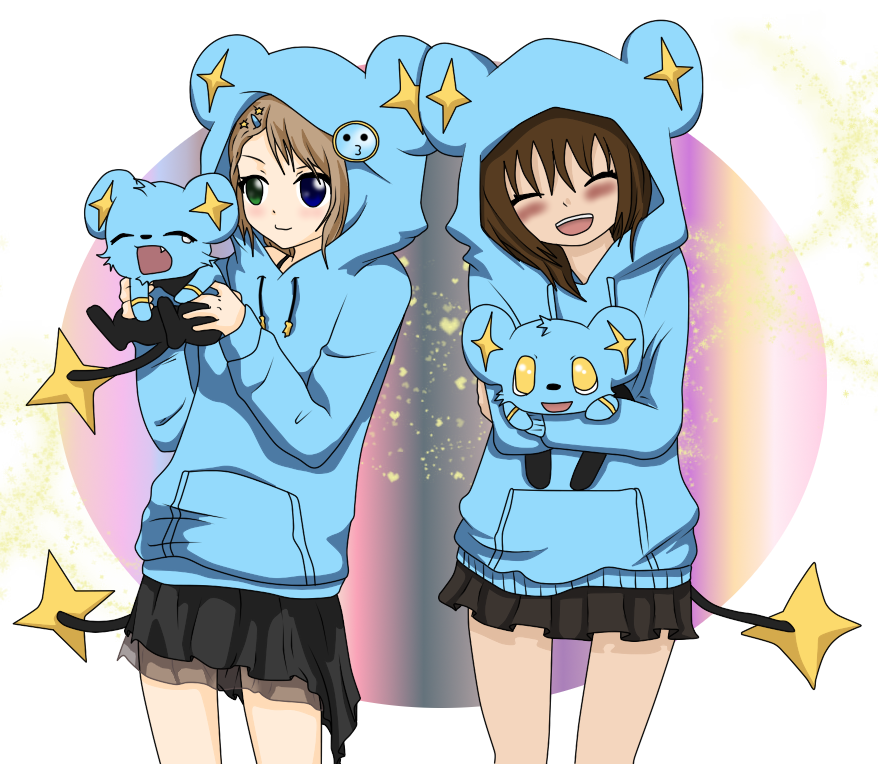 Collab with my i. Anime clipart best friend