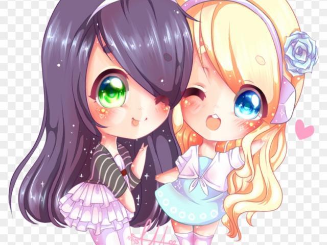 Free download clip art. Anime clipart best friend
