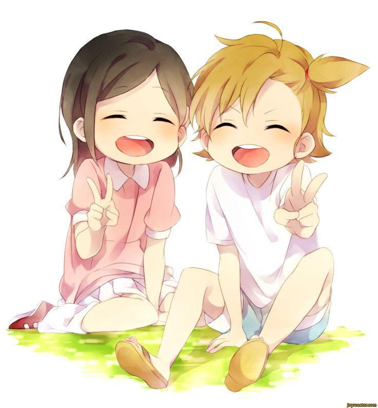 barakamon images on. Anime clipart best friend