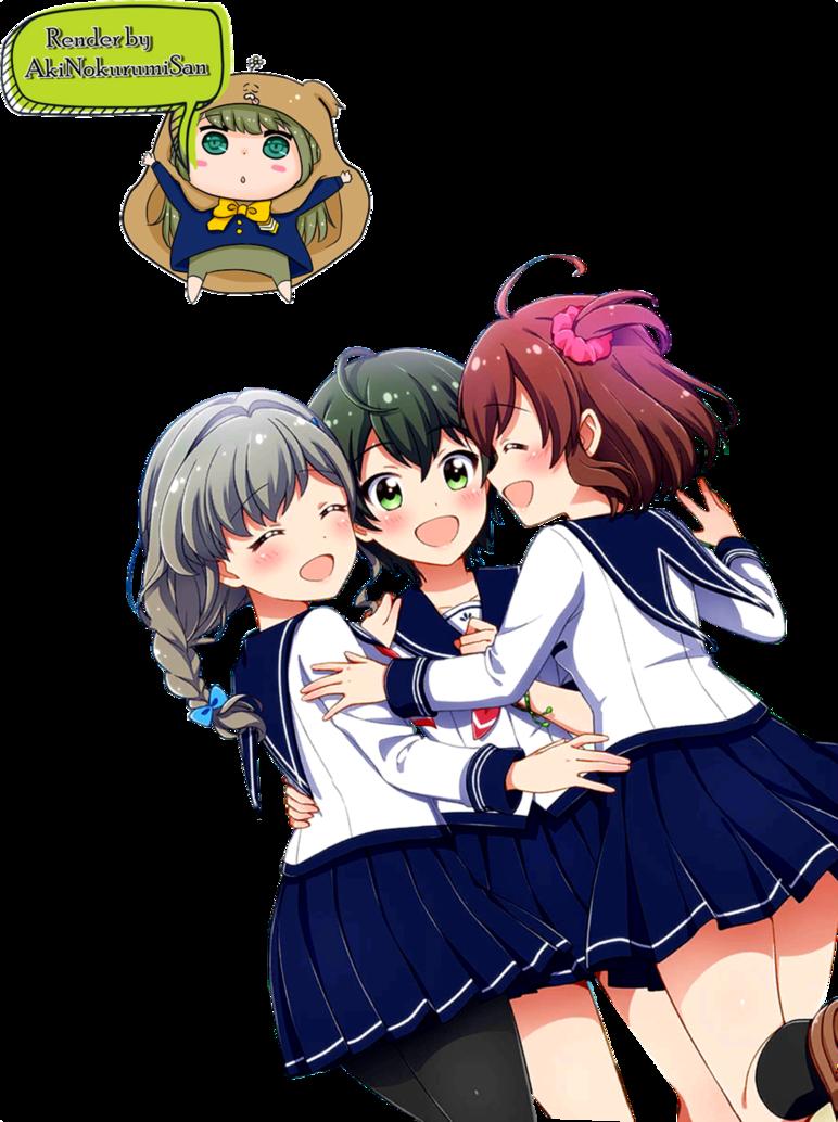 friends in their. Anime clipart best friend