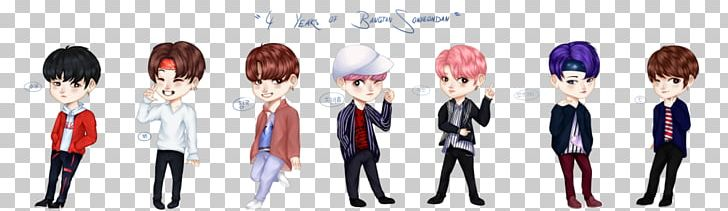 Anime clipart bts. Fan art png chibi