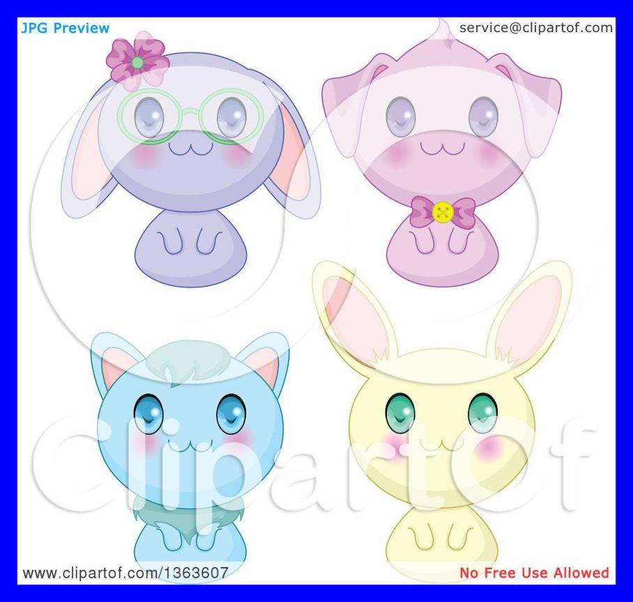 Anime clipart bunny. Marvelous of cute manga