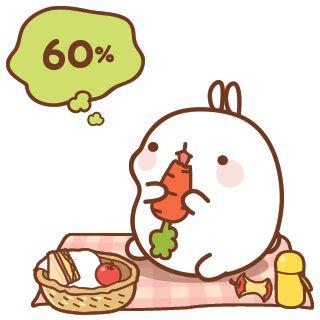 Anime clipart bunny.  best cartoon molang