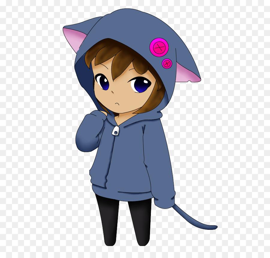 Anime drawing clip art. Cat clipart chibi