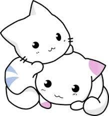 Anime clipart cat. Pussycat kittens kittycat pets