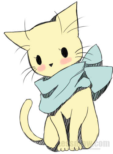 Drawing at getdrawings com. Anime clipart cat