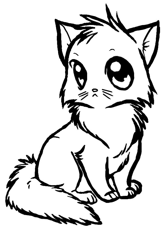 Free pics download clip. Anime clipart cat