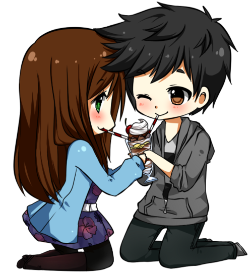 Anime clipart couple. Love png photo mart
