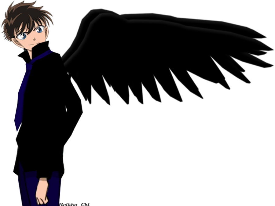 Anime clipart dark angel. Kaito by reikhochi on