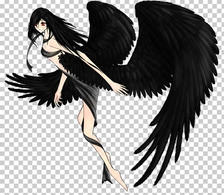 Of death amazing transparent. Anime clipart dark angel